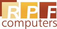 RPF Computers Mainhardt Retina Logo